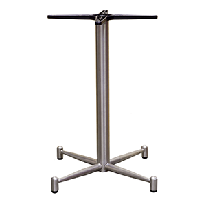 Galaxi - Dining Brushed stainless steel finish table base with fully welded base
