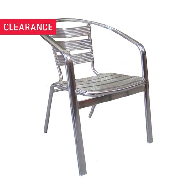 JZ0012CA Aluminium Arm Chair - Clearance Item
