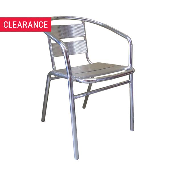 JZ001CA Aluminium Arm Chair - Clearance Item