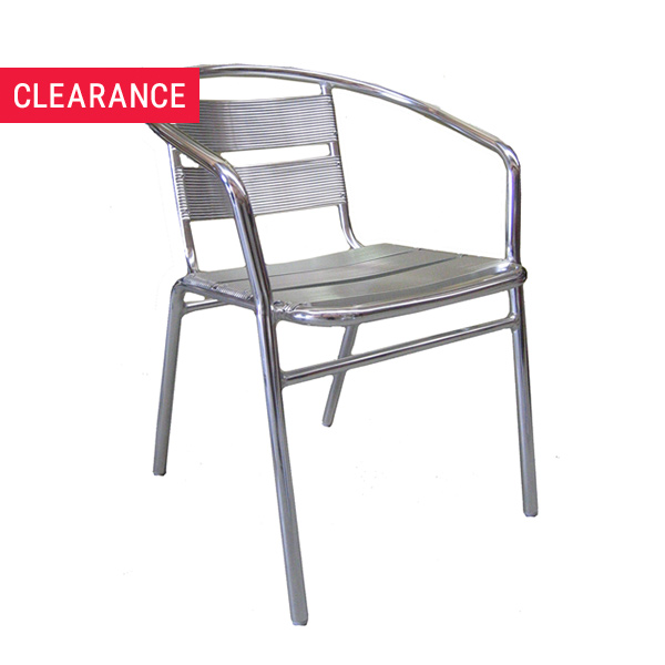 JZ002CA Aluminium Arm Chair - Clearance Item