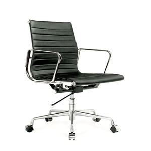Madison Office Chair in Black PU