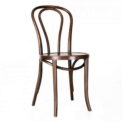 No. 18 Bentwood Chair in Walnut finish