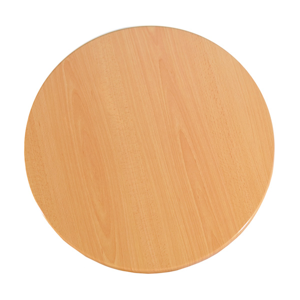 Round Isotop Table Top - Beech