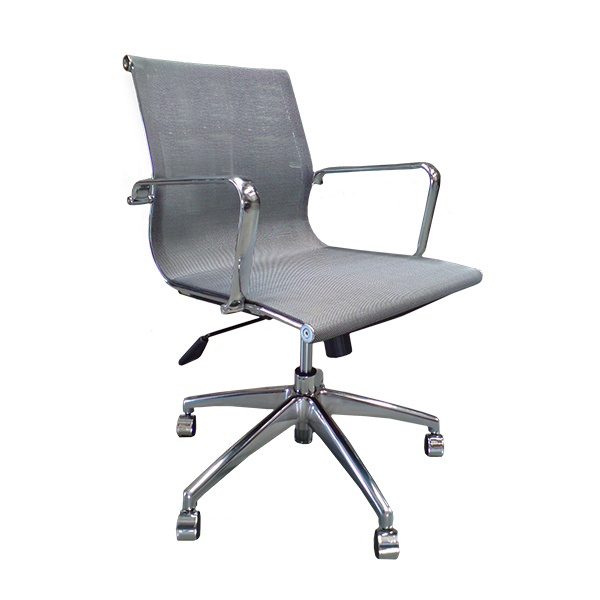 Stylus Mesh LB - Office Chair in Silver