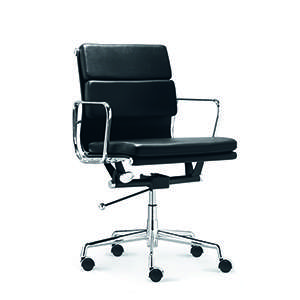 Vogue Office Chair in Black PU