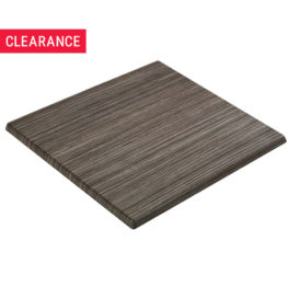 Isotop Table Top in Zebrano Rustic - Clearance
