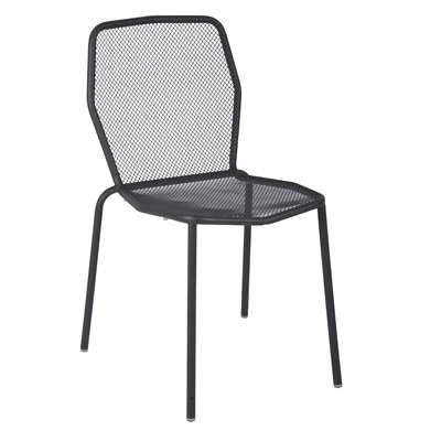 Trevi Side Chair in Anthracite