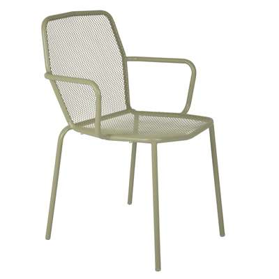 Trevi Arm Chair in Green