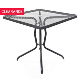 Trevi Table in Anthracite - Clearance Item