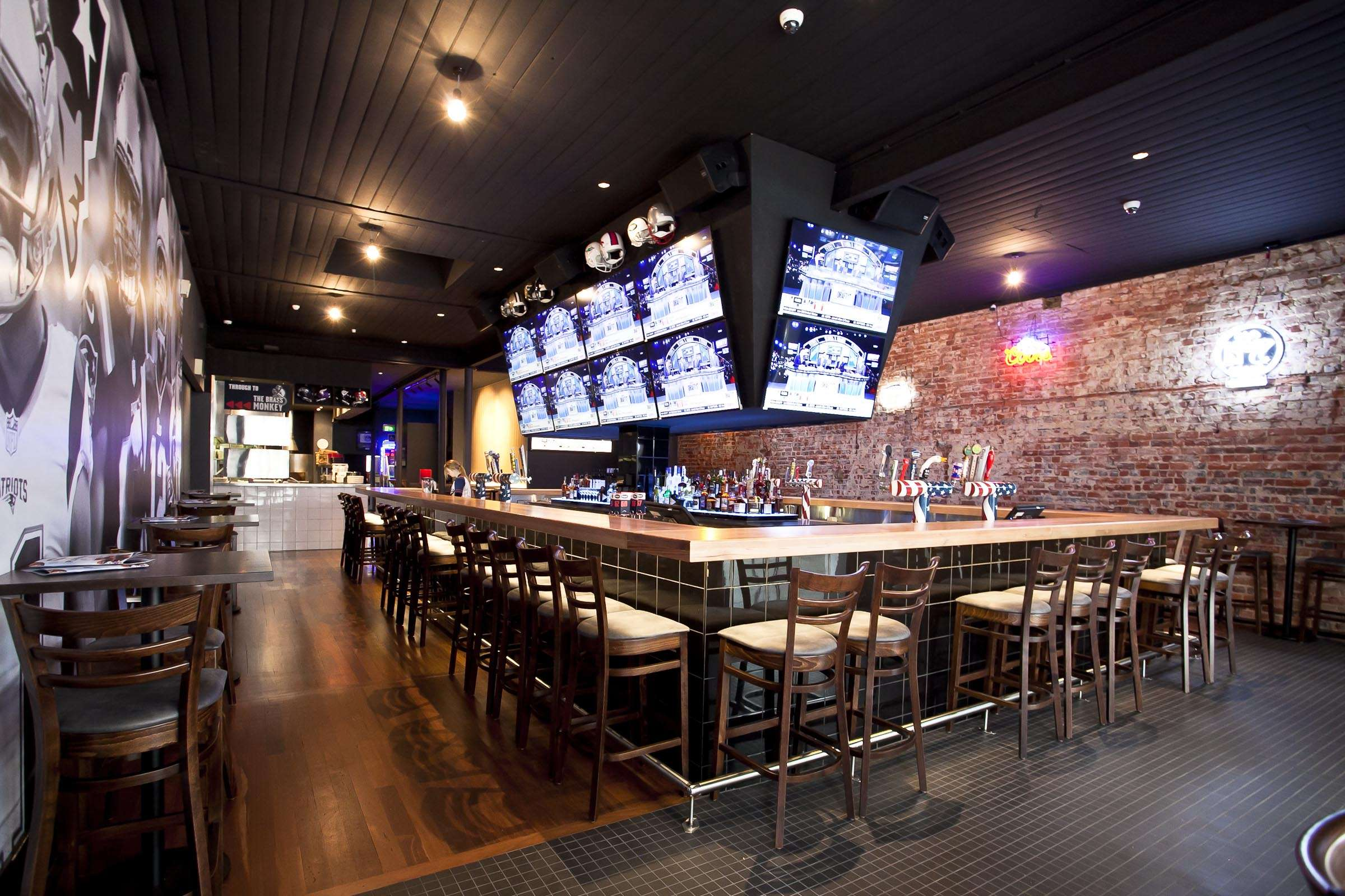 Patriots Sports Bar Ergoline Furniture