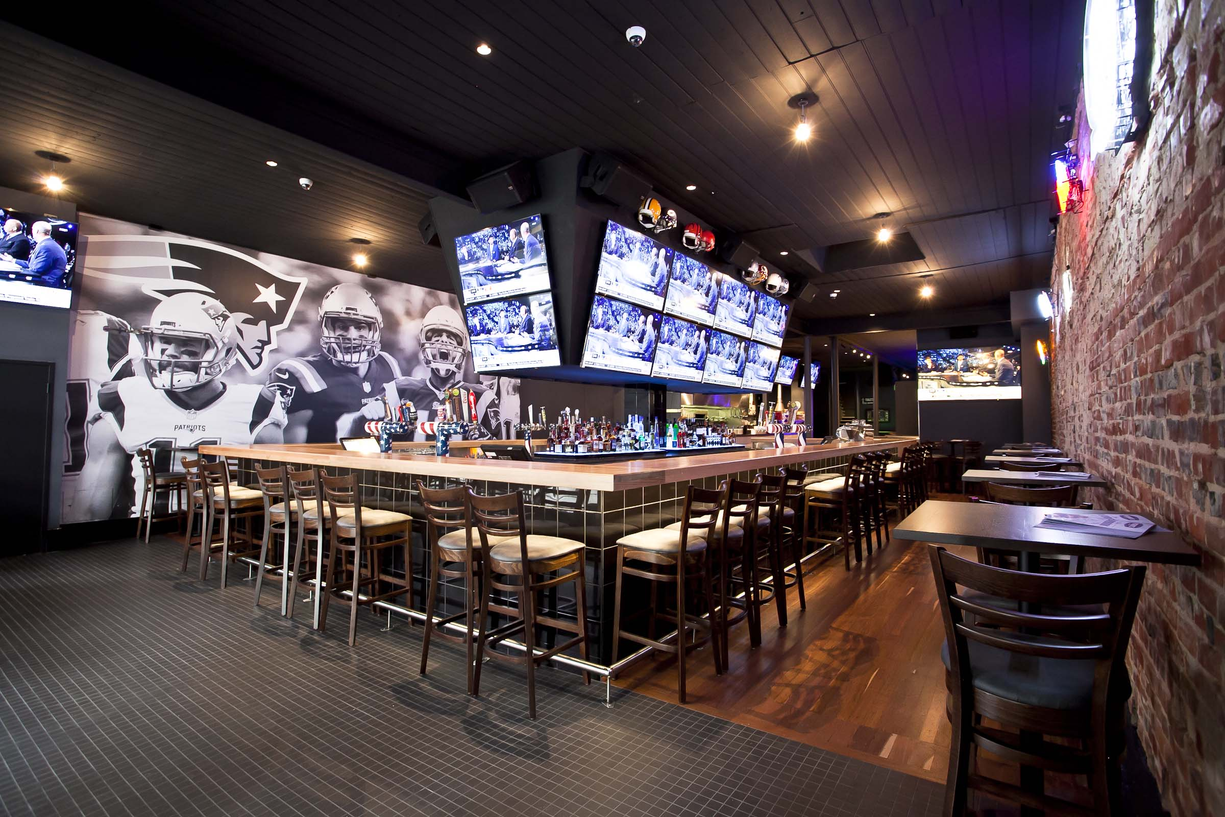 Feature Project Patriots Sports Bar Ergoline Furniture