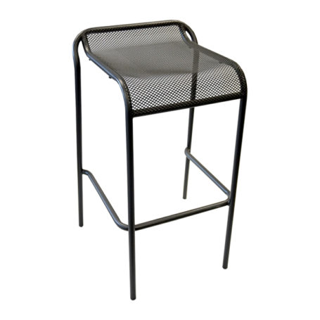 Trentino Bar Stool in Black