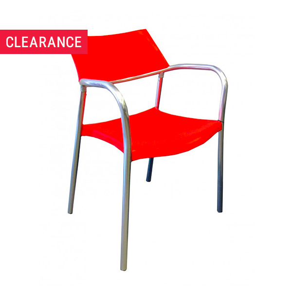 Kingston Armchair in Red - Clearance Item