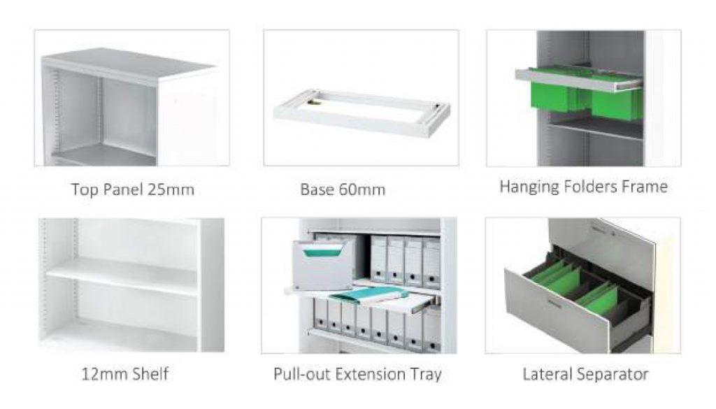 MEDIX Storage Accessories