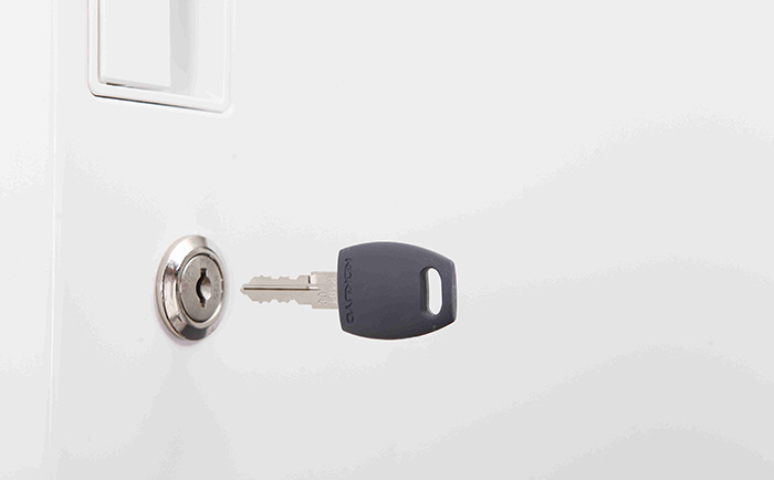 Medix Storage - Exchangeable locks