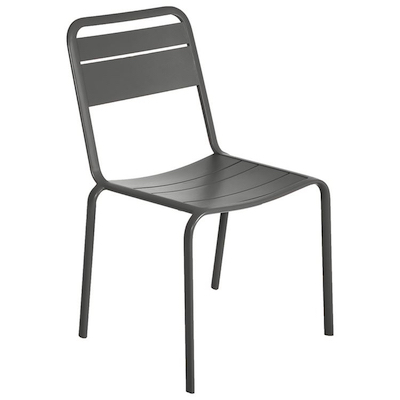 Lambretta Side Chair in Anthracite