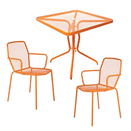 Trevi Table & Chair Set in Mandarin