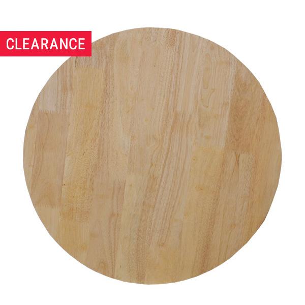 Rubberwood Top - Clearance Item