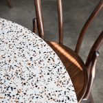 Marblo Tops with No. 18 Bentwood Chairs