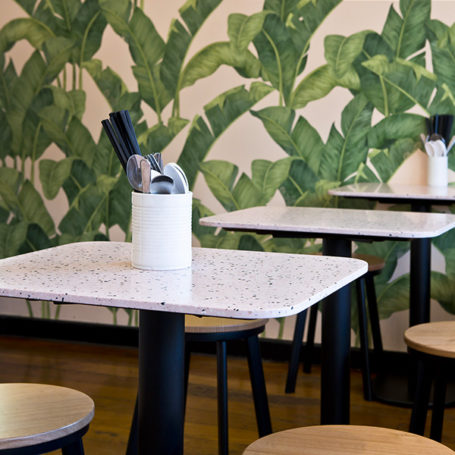 Marblo Top - Terrazzo from Three Sisters Vietnamese Tuckshop