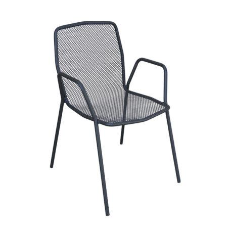 Trevi Bridge Chair in Anthracite