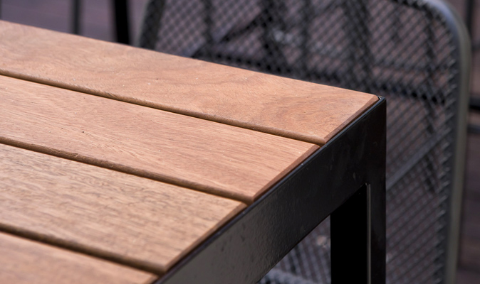 The Brass Monkey - Custom Made Spotted Gum Timber