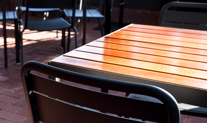 Kalamunda Hotel - Custom Made Spotted Gum Timber Table