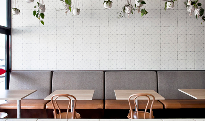 Pasta Express Warwick - Banquette Seating