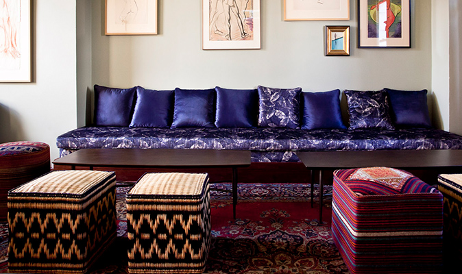 Guildhall Manifesto - Upholstery of Square Scattered Cushions