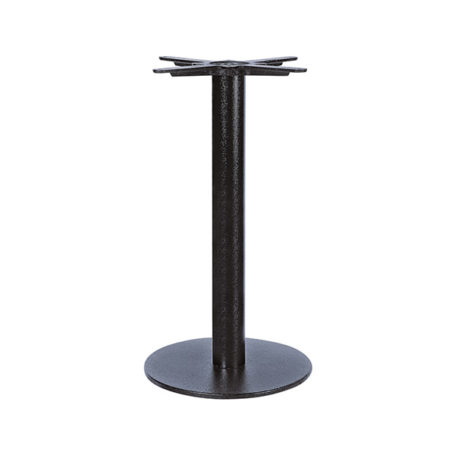 Sharon R400 Dining Table Base in Black