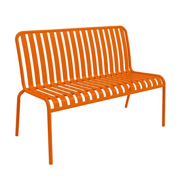 Brighton 2-Seater Lounge - Chilli Orange