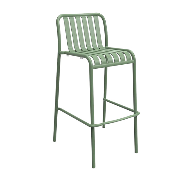 Brighton Bar Stool in Reseda Green