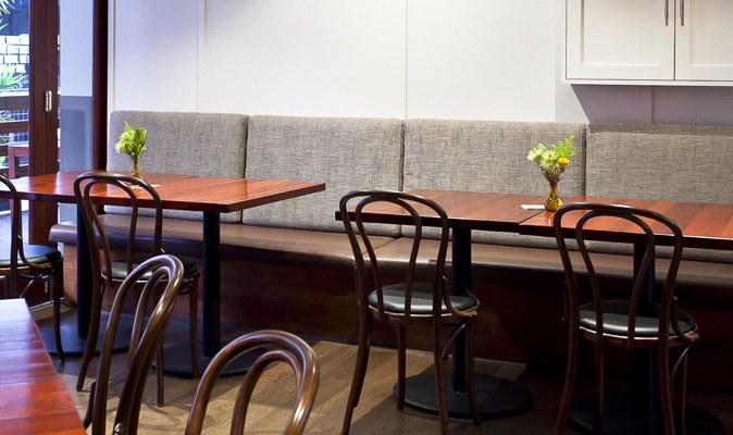 The Generous Squire - Upholstery of Custom Banquette Seating