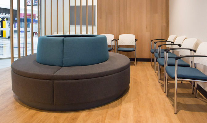 Park Medical Vic Park - Custom Design Circular Seating