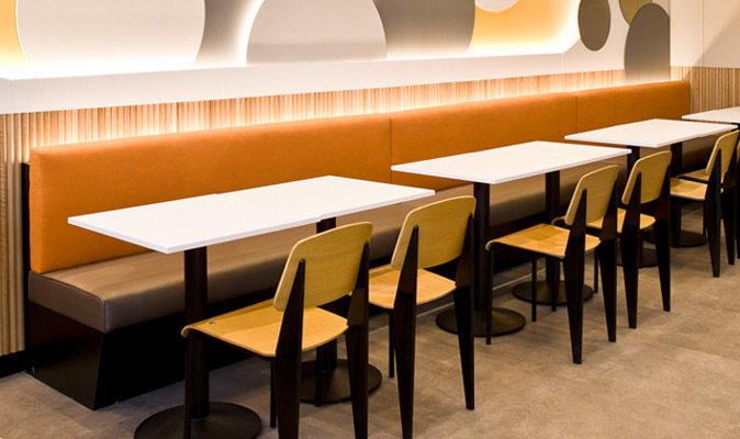 Zhangliang Spicy Hotpot - Custom Banquette Seating