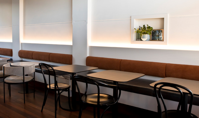 St. Brigid's Bar Doubleview - Custom Banquette Seating