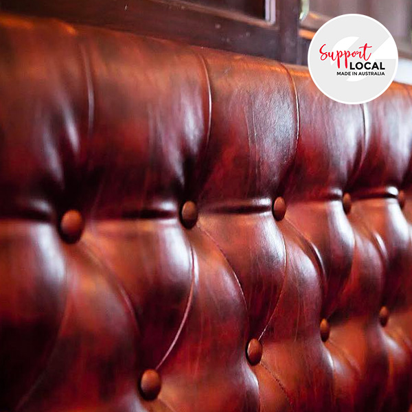 Deep Button Stitch - Custom Banquette Seating