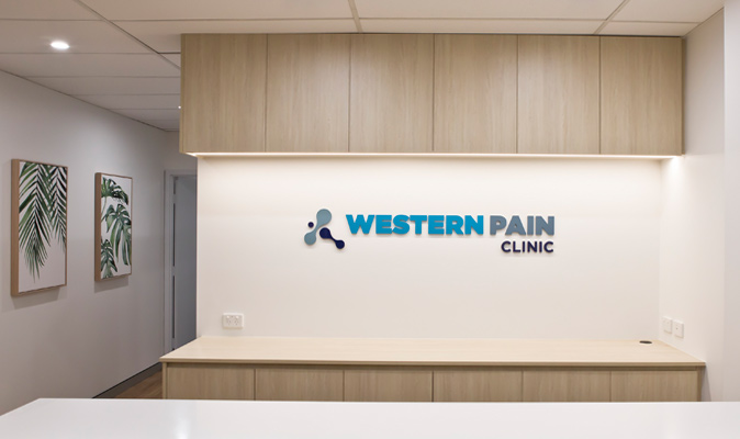 Western Pain Clinic - Joinery of Storage Cabinets
