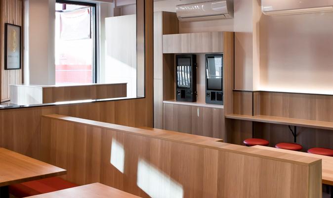 Hakata Gensuke Northbridge - Joinery of Water Station, Cabinetry & Counters